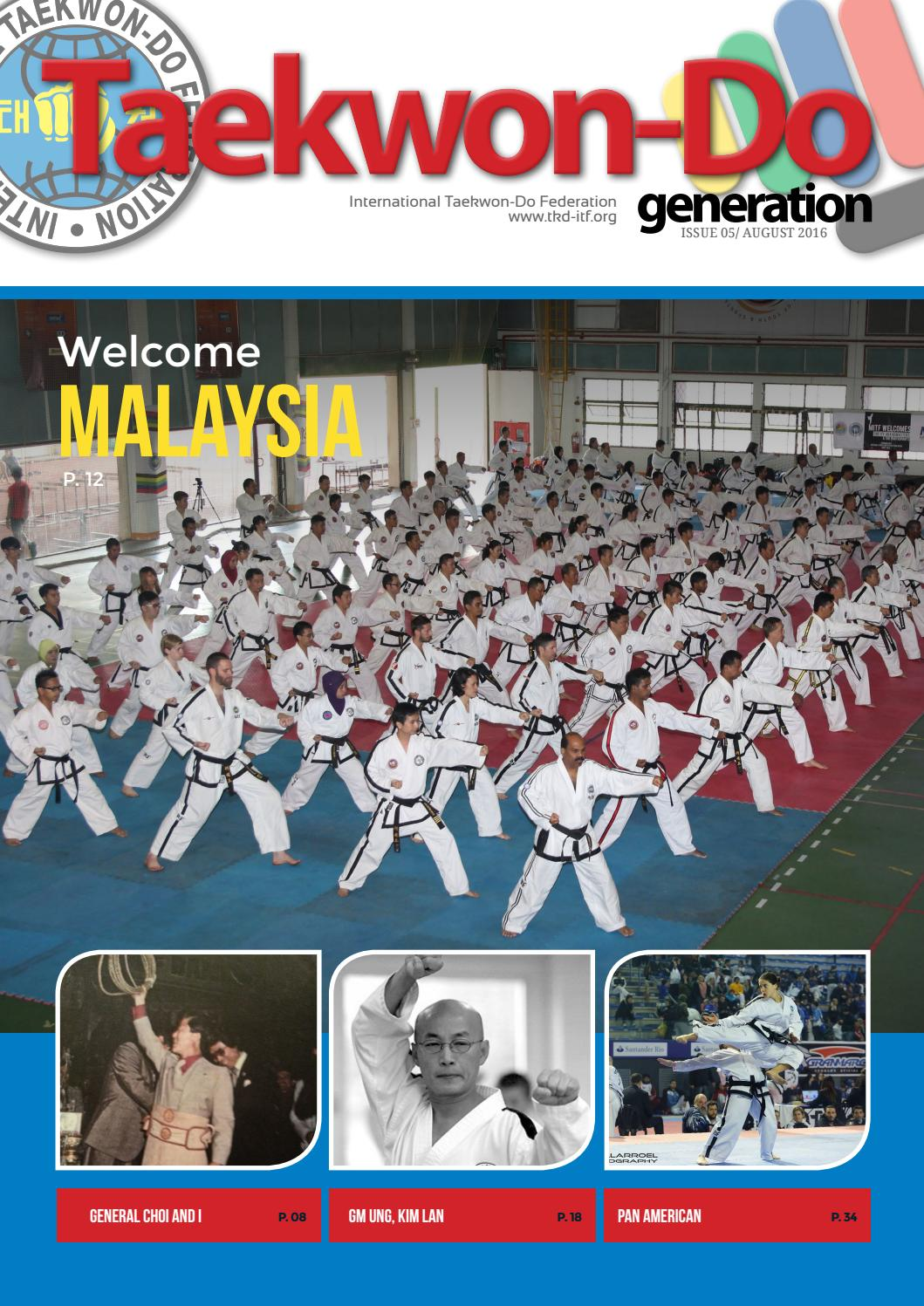 TAEKWON-DO GENERATION Nº 05 English/August 2016 by TKD ITF