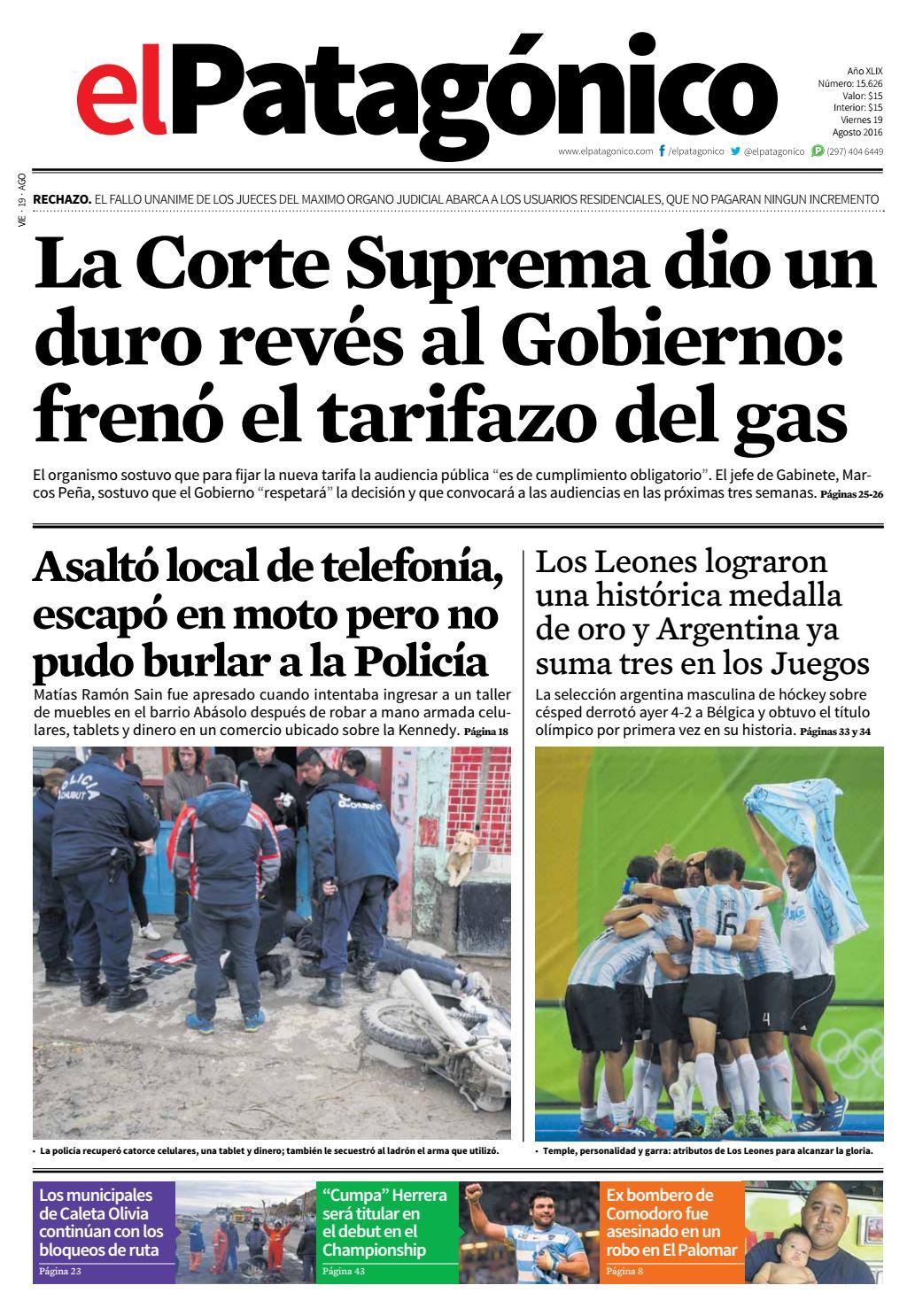 edicion231218082016.pdf by El Patagonico - issuu