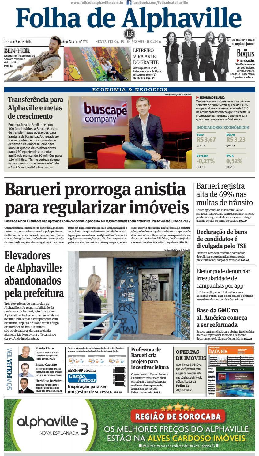 Edição 673 by Folha de Alphaville - issuu 46cccf7a7dc33