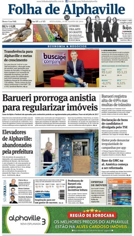Edição 673 by Folha de Alphaville - issuu d1a07794df