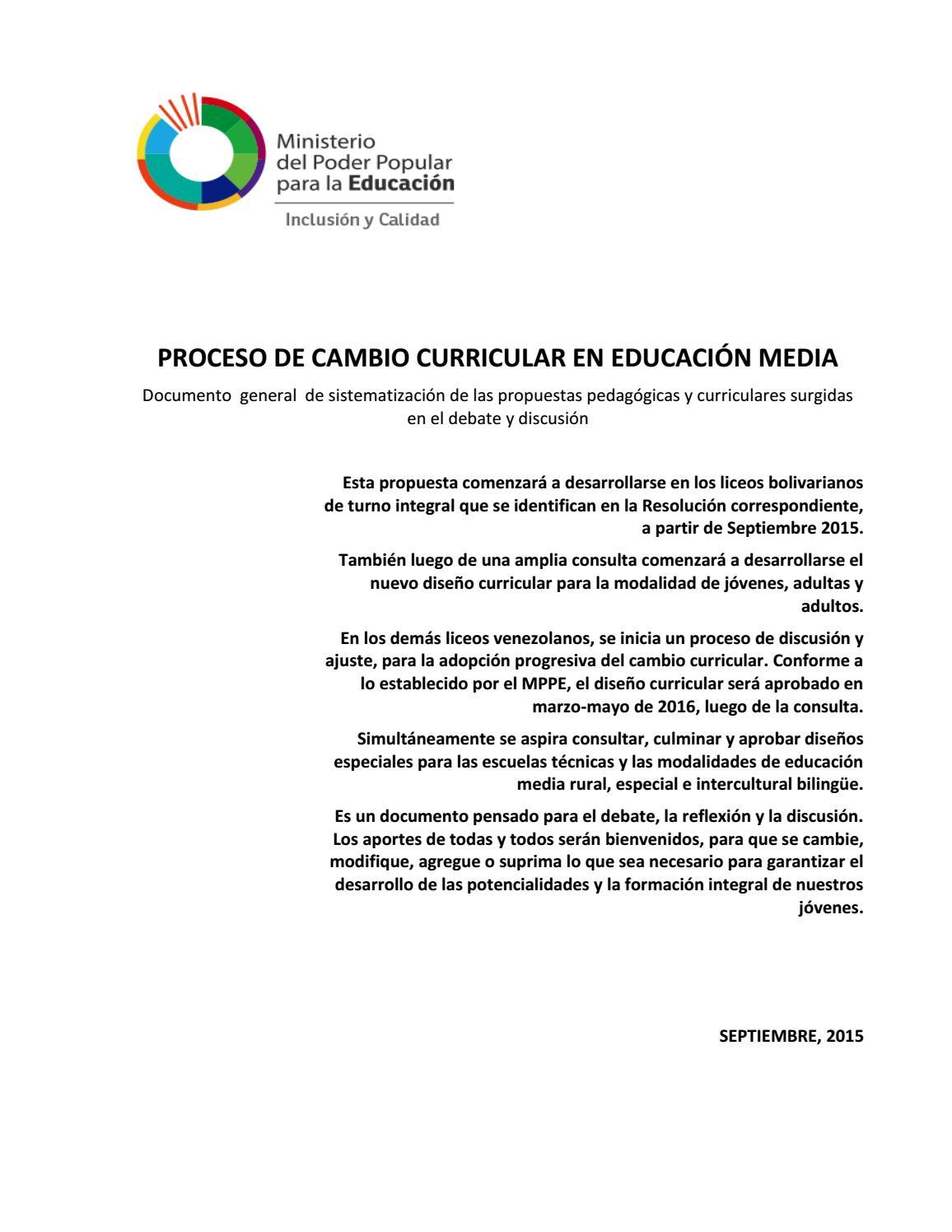 Cambio Curricular Contenido 2016-2017 by Teorias_Aprendizaje_XXI - issuu