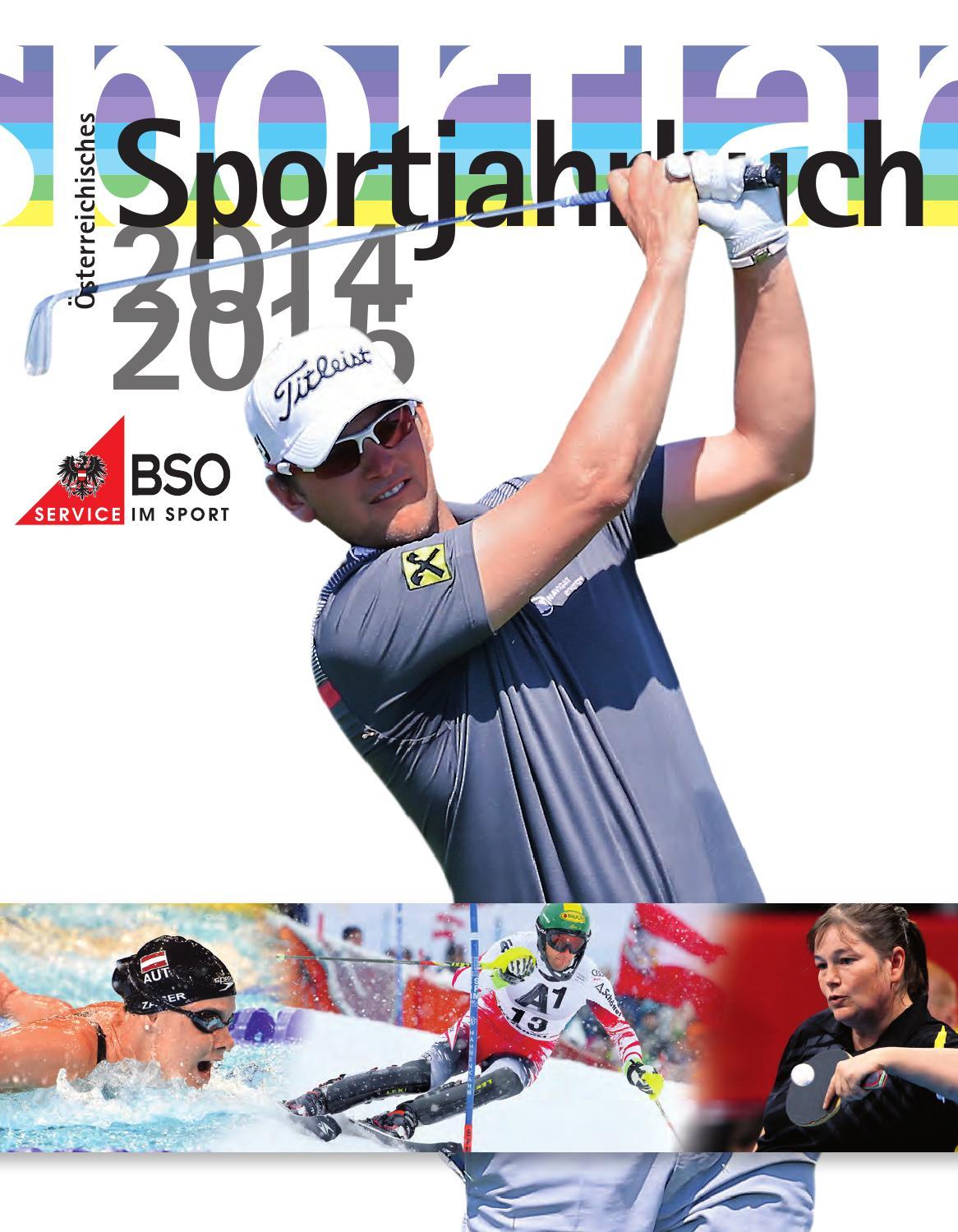 BSO Sportjahrbuch 201415 by Bundes Sportorganisation issuu