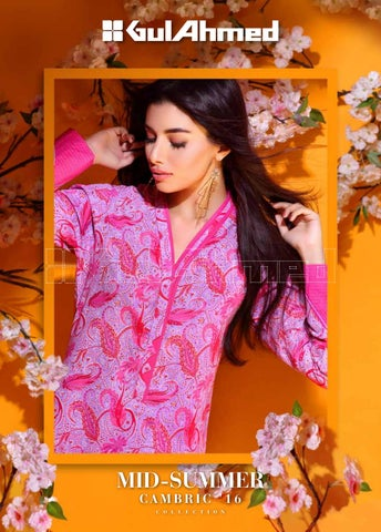 a80070a080 Gul ahmed midsummer cambric collection 2016 2017 clothing9 blogspot com