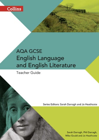AQA GCSE English Language and Literature: Teacher's Guide by Collins