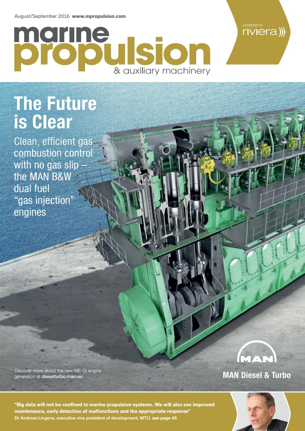 Ship engines: types, characteristics, maintenance 52