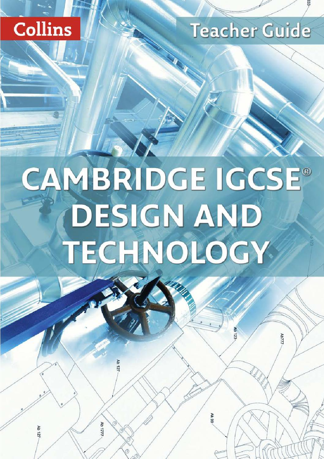 IGCSE Design and Technology Teacher Guide by Collins - issuu