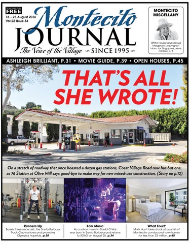 e02a65e17b99 That s All She Wrote! by Montecito Journal - issuu