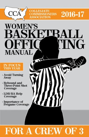 Cca basketball manual cca women u0027s 2017 18 manual array 2016 17 cca women u0027s basketball officiating manual sample chapter rh fandeluxe Images