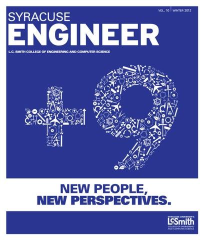 Syracuse engineer winter 2012 by syracuse universitys college of page 1 malvernweather Choice Image