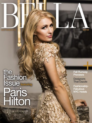 61293daea25c BELLA New York - September/October 2016 featuring Paris Hilton by ...