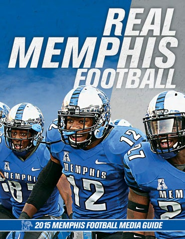 2015 Memphis football Media Guide by University of Memphis Athletic ... 0b334c848