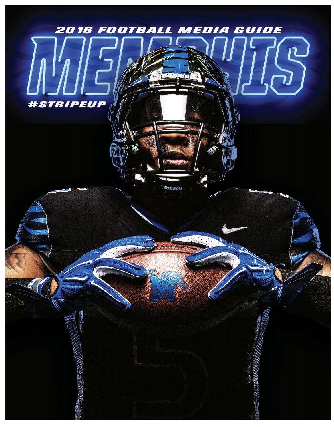 2016 Memphis Football Media Guide by University of Memphis Athletic Media  Relations - issuu 8c826dc5a