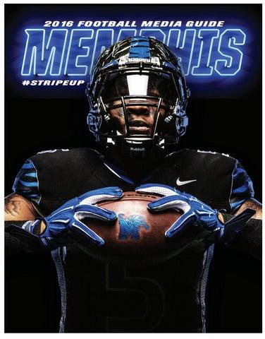 2016 Memphis Football Media Guide By University Of Memphis