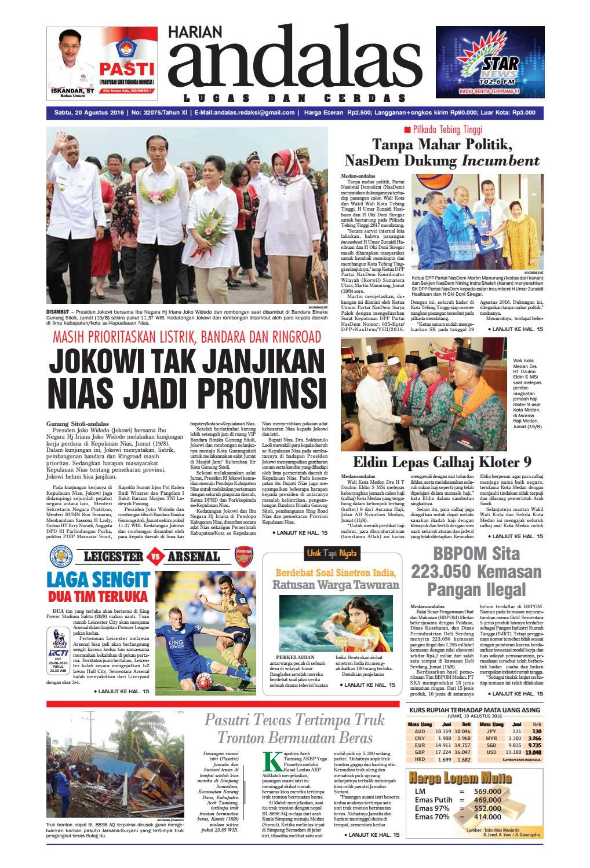 Epaper andalas edisi sabtu 20 agustus 2016 by media andalas - issuu 74d2edb615