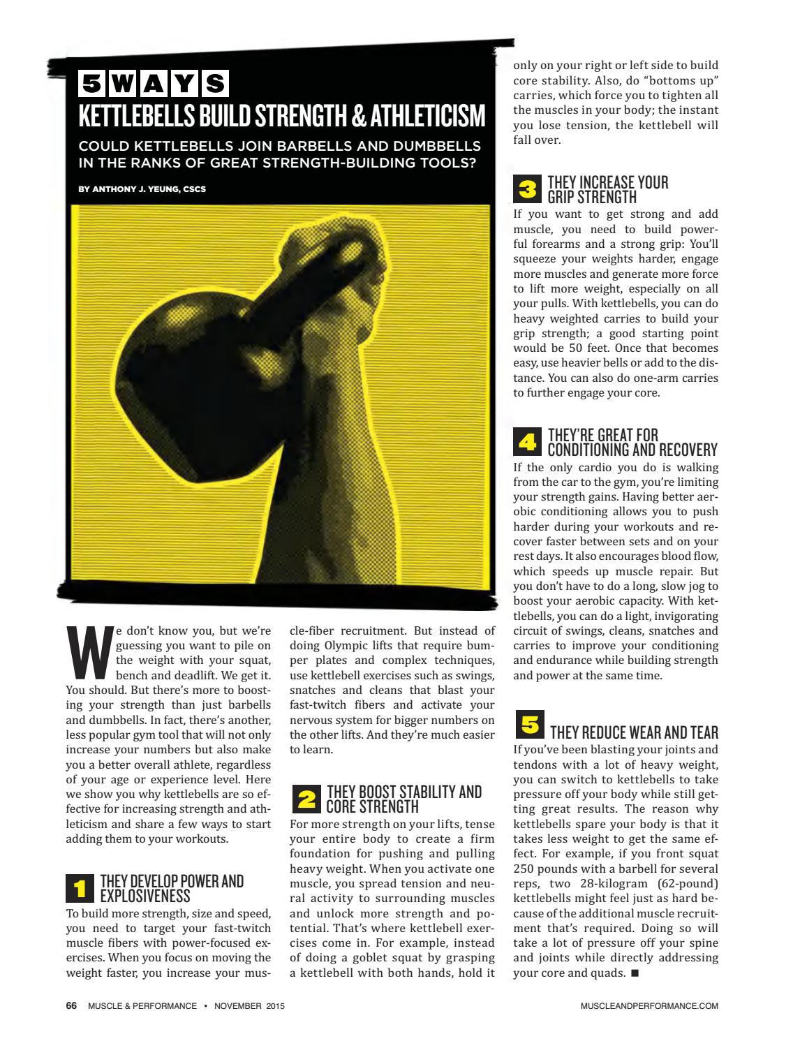 Muscle Performance November 2015 By Winpkt Issuu
