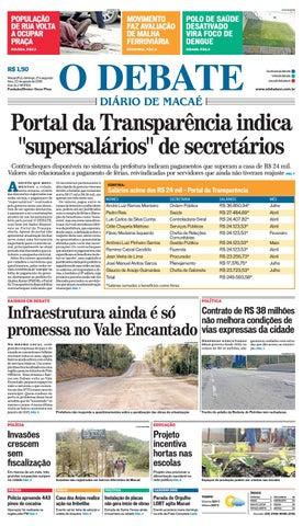 Noticiário 21 08 2016 by O DEBATE Diario de Macae - issuu 07905c9738