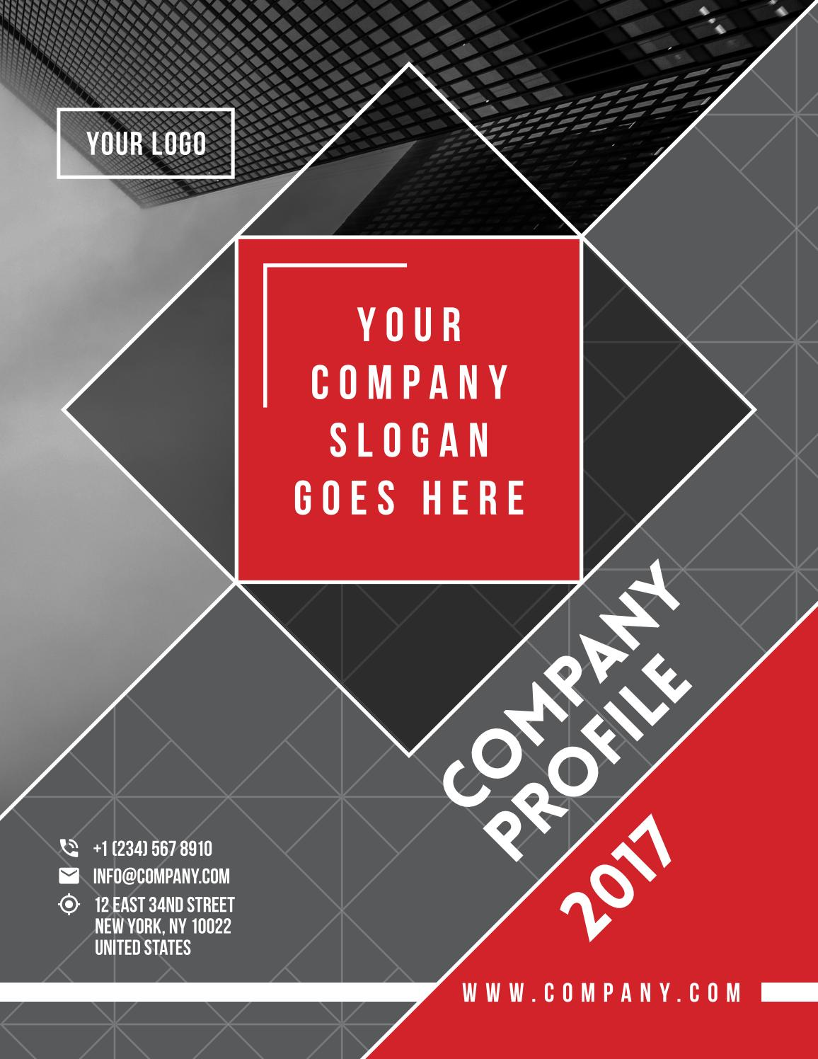 company profile - corporate brochure template by tm-team