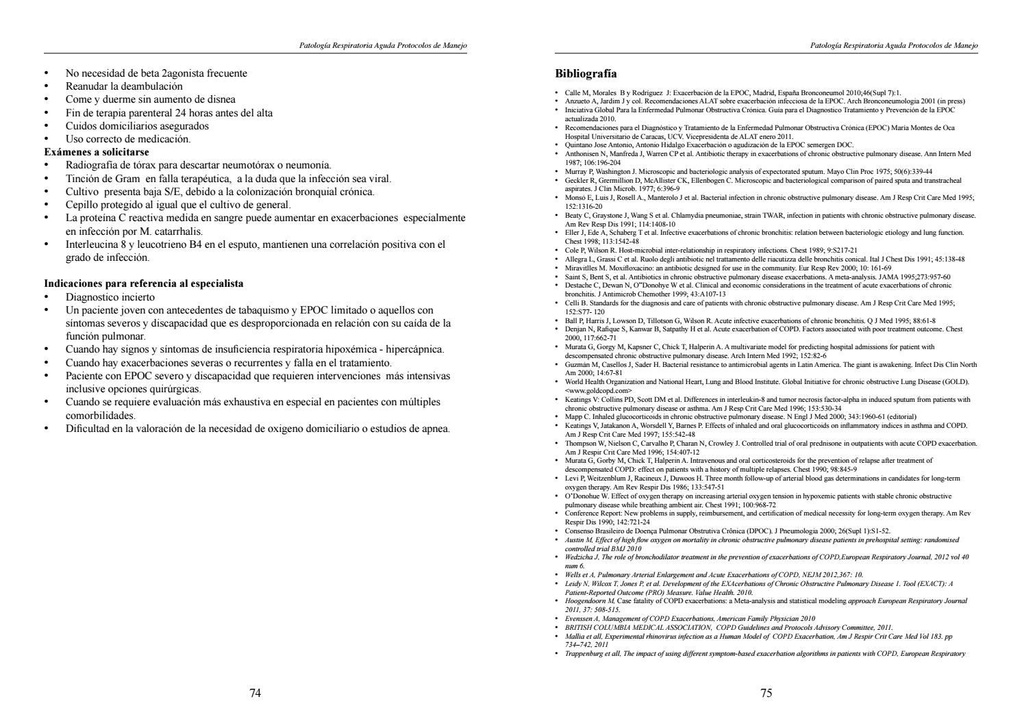 Patologia respiratoria aguda protocolos de manejo by Diego Isra ...