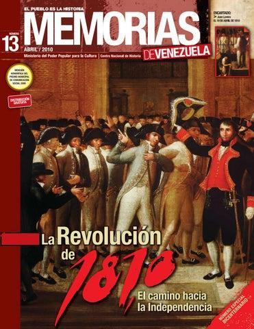 0f95026dd Memorias de Venezuela N°13 - La Revolución de 1810 by Fundación ...