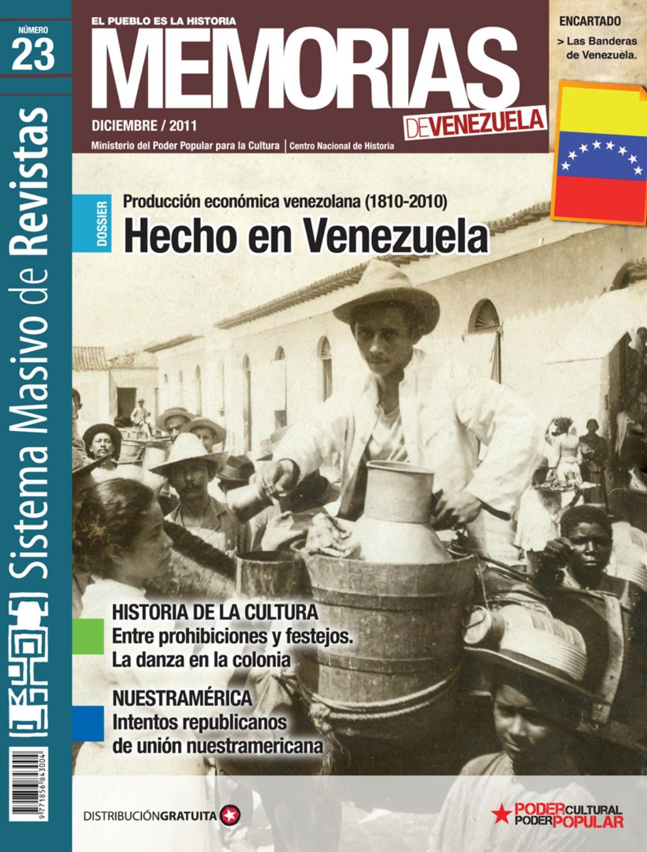 Memorias De Venezuela N 23 Hecho En Venezuela By