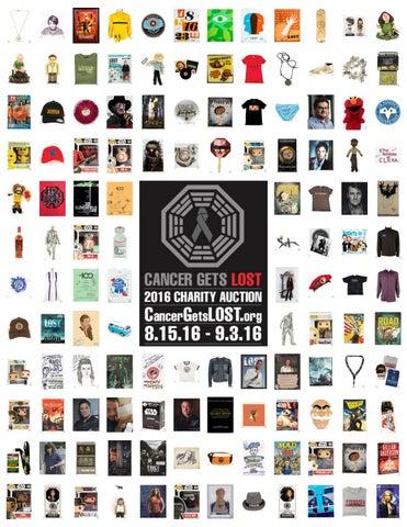 5bfdb0b006f Cancer Gets LOST 2016 Charity Auction by Blacksparrow - issuu