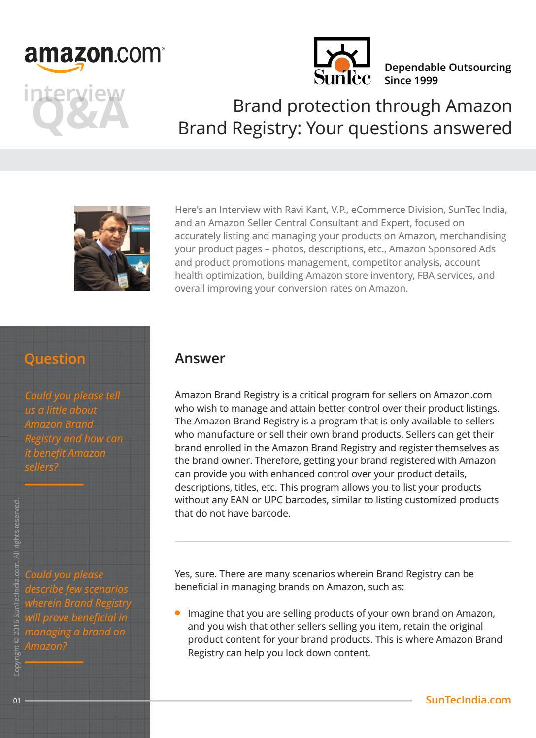 amazon seller brand registry
