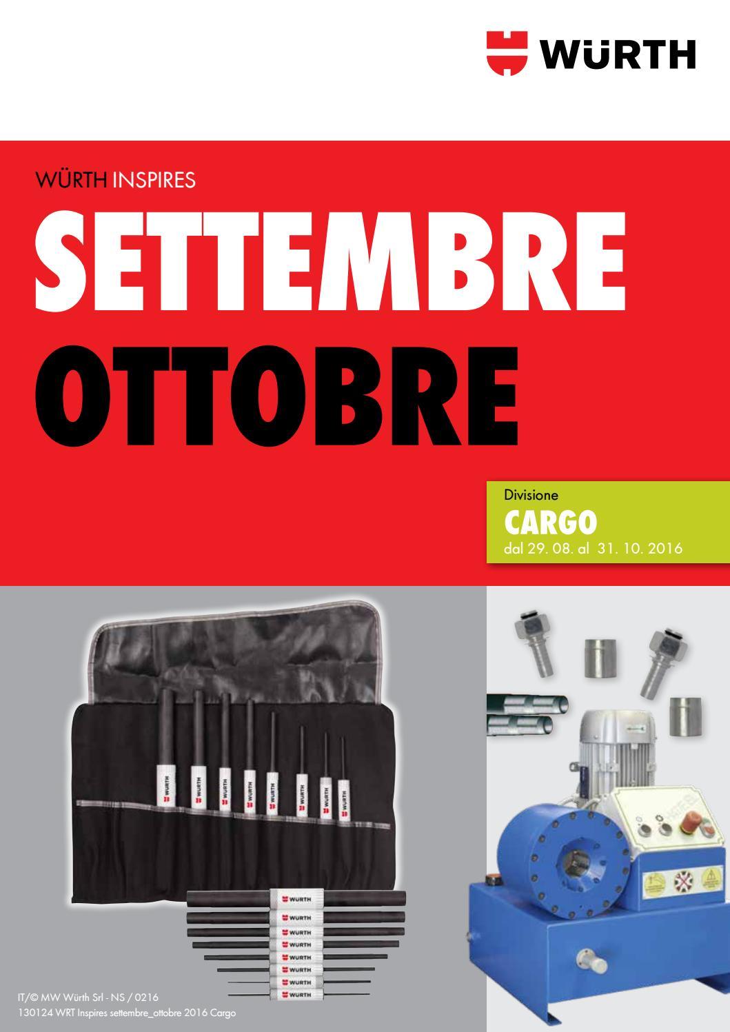 Inspires settembre ottobre 2016 cargo by w rth italia issuu for B b italia carugo