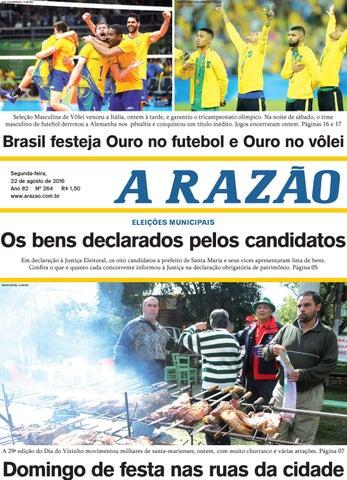 Jornal A Razão 22 08 2016 by Jornal A Razão - issuu a6749a44eb731