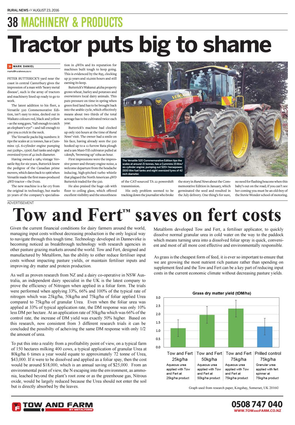 Rural News 23 August 2016 by Rural News Group - issuu