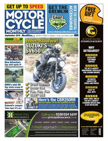 motorcycle monthly september 2016 by mortons media group ltd issuuPoints Spark Advancer Schematic Honda Sl125 Motosport 125 K1 Usa #20