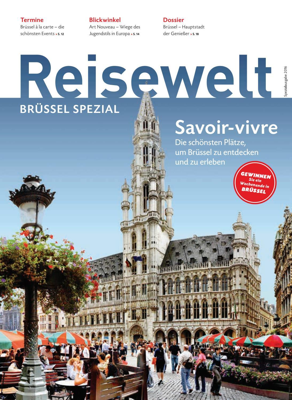 Wochenende Brüssel reisewelt brüssel by tourism wallonia brussels belgium issuu
