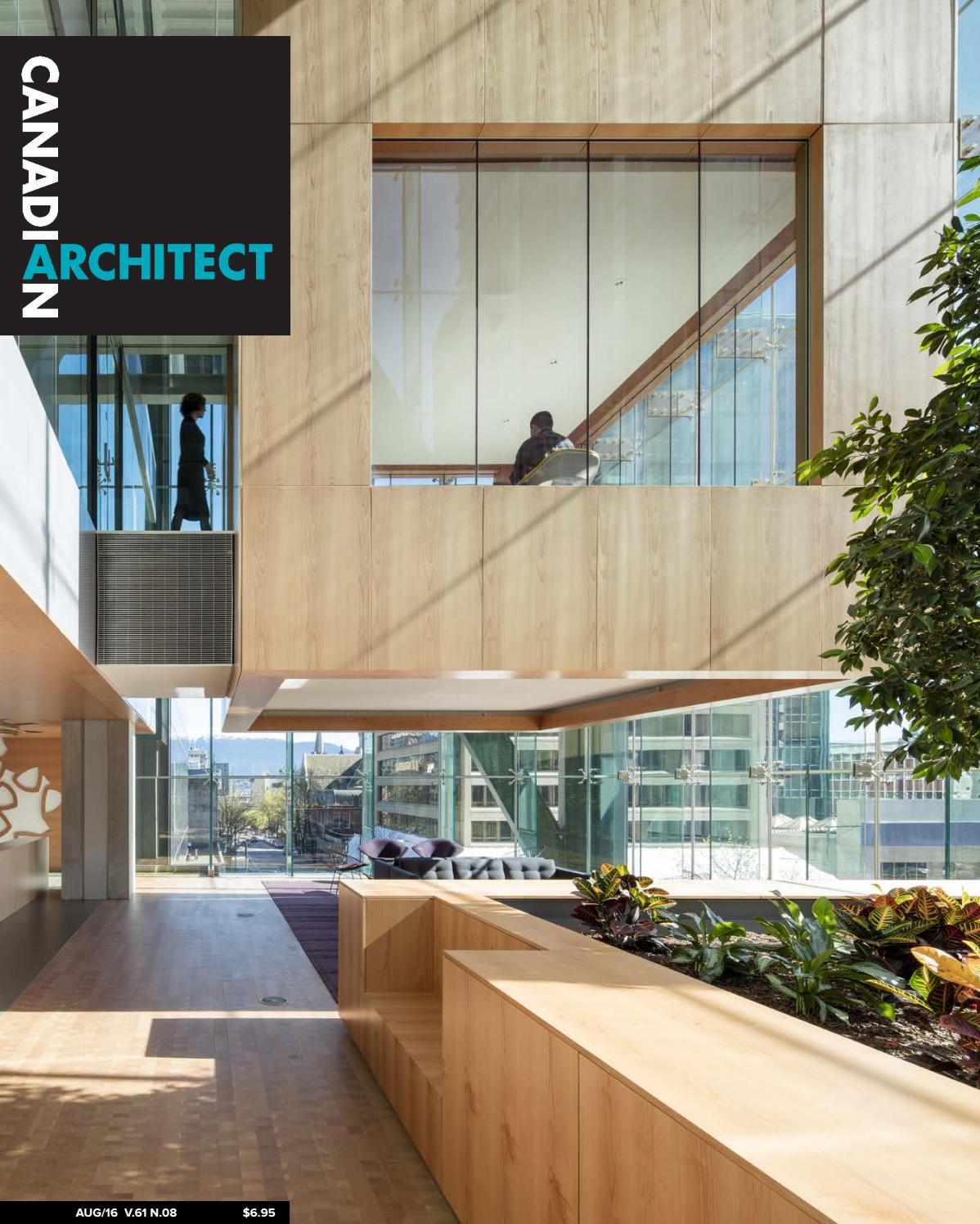 Construction Hangar Bois Prix canadian architect august 2016iq business media - issuu