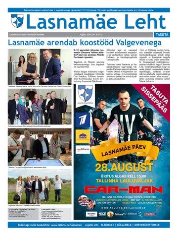 a521fc8d8b5 Lasnamäe Leht / AUGUST 2016 / EST by Tallinna linnavalitsus - issuu