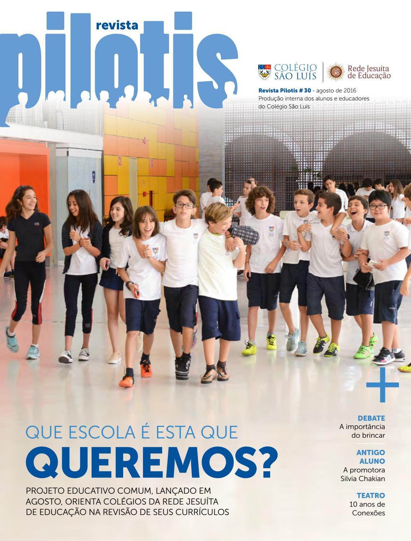 Revista Pilotis número 30 by Colégio São Luís - issuu 65d625491f1