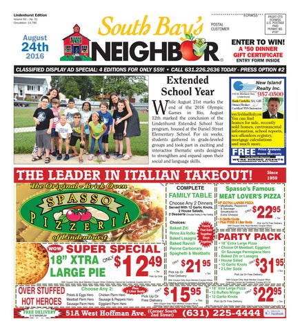 August 24 2016 lindenhurst by south bays neighbor newspapers issuu page 1 fandeluxe Choice Image