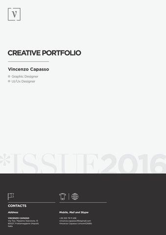Vincenzo Capasso - Creative Portfolio by Vincenzo Capasso - issuu
