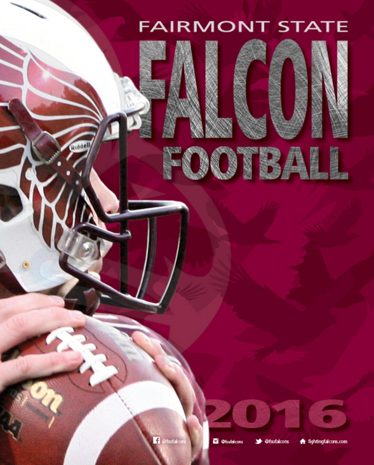 2016 Fairmont State Football Media Guide By Fairmont State