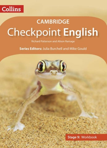 Cambridge Checkpoint English Stage 9: Workbook by Collins - issuu