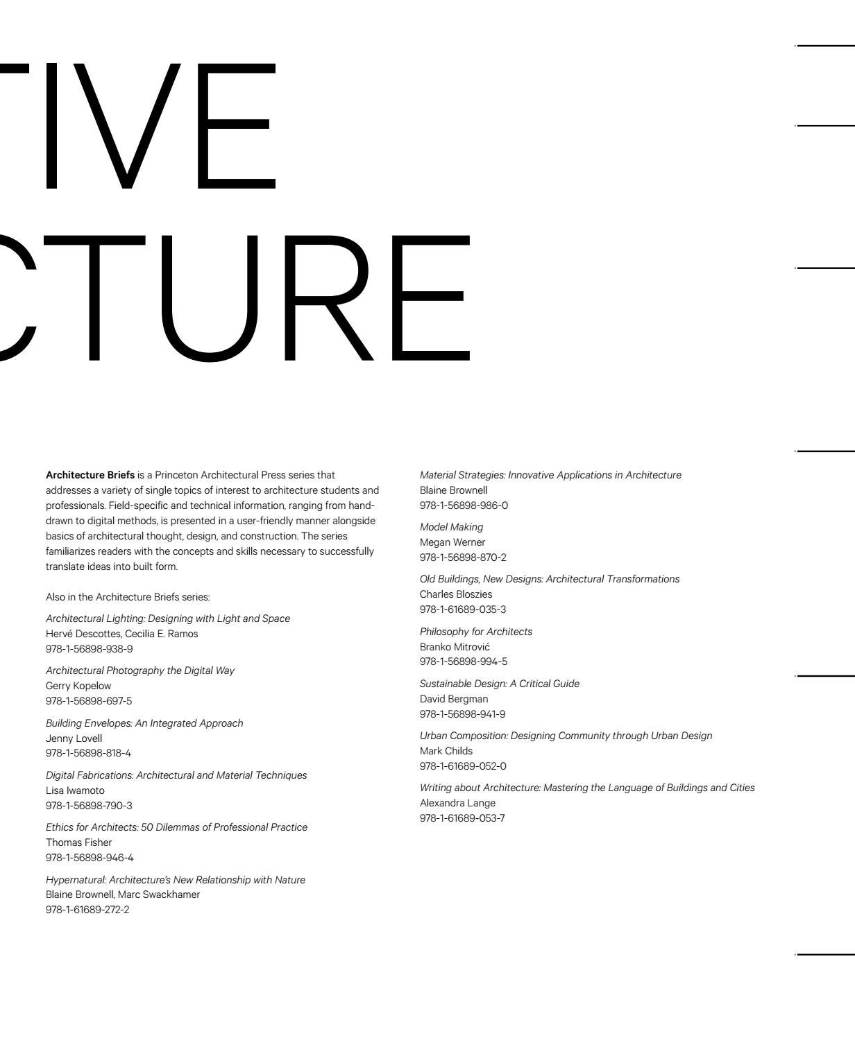 Interactive Architecture by Princeton Architectural Press