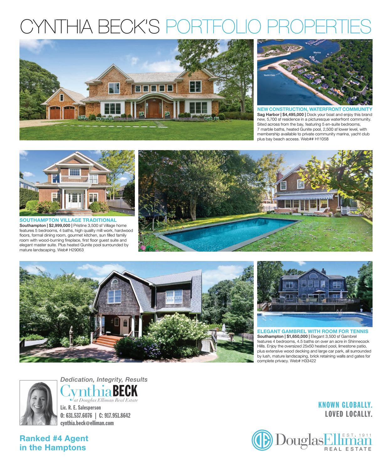 hamptons real estate showcase labor day 2016 by m3 media group