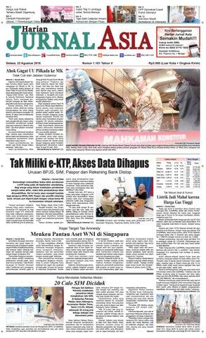 Harian Jurnal Asia Edisi Selasa 06c7a45147