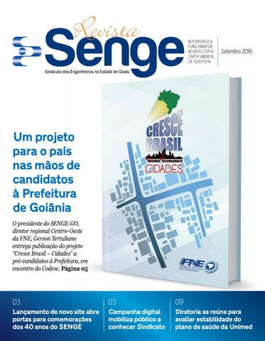 Revista SENGE Setembro by SENGE Goiás - issuu 6590a24051