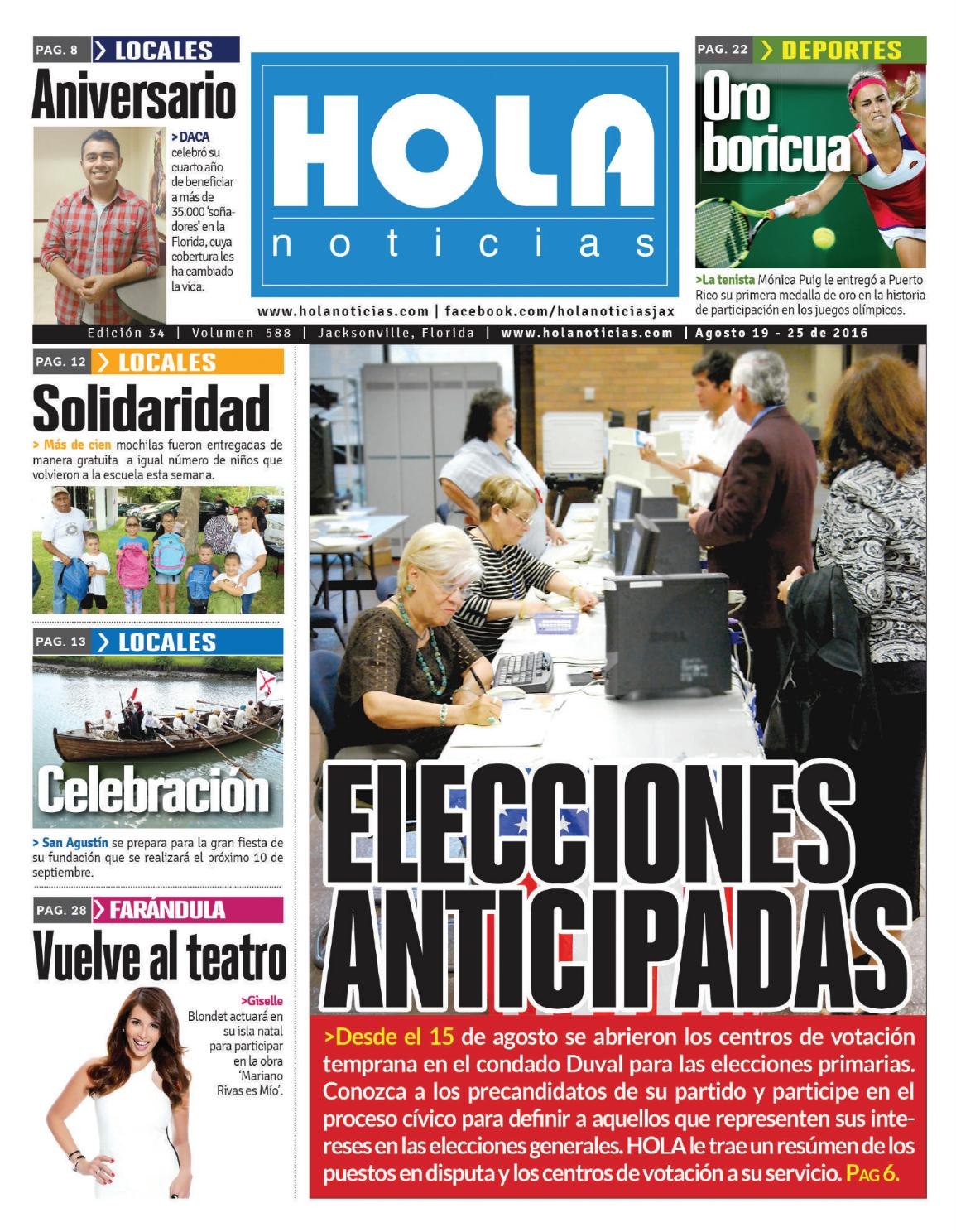 Votaciones anticipadas by Hola News - issuu