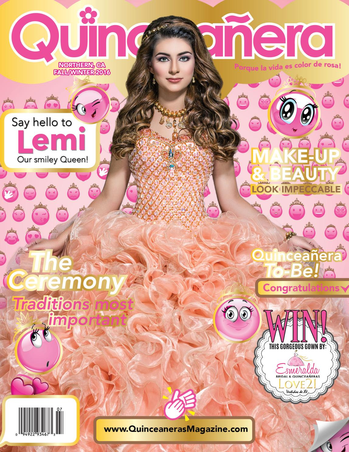 QUINCEANERAS MAGAZINE NORTHERN CA FALL / WINTER 2016 by Quinceanera ...