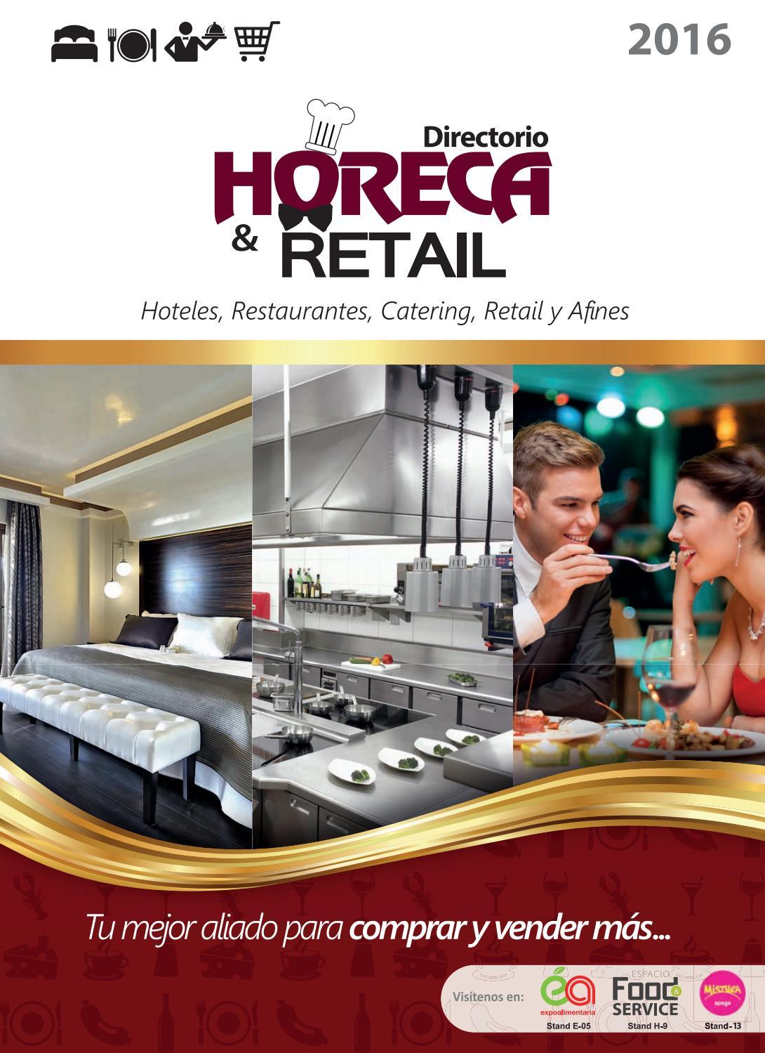 Directorio Empresarial Horeca   Retail 2016 by Revista Industria  Alimentaria - issuu cc33cc445c03