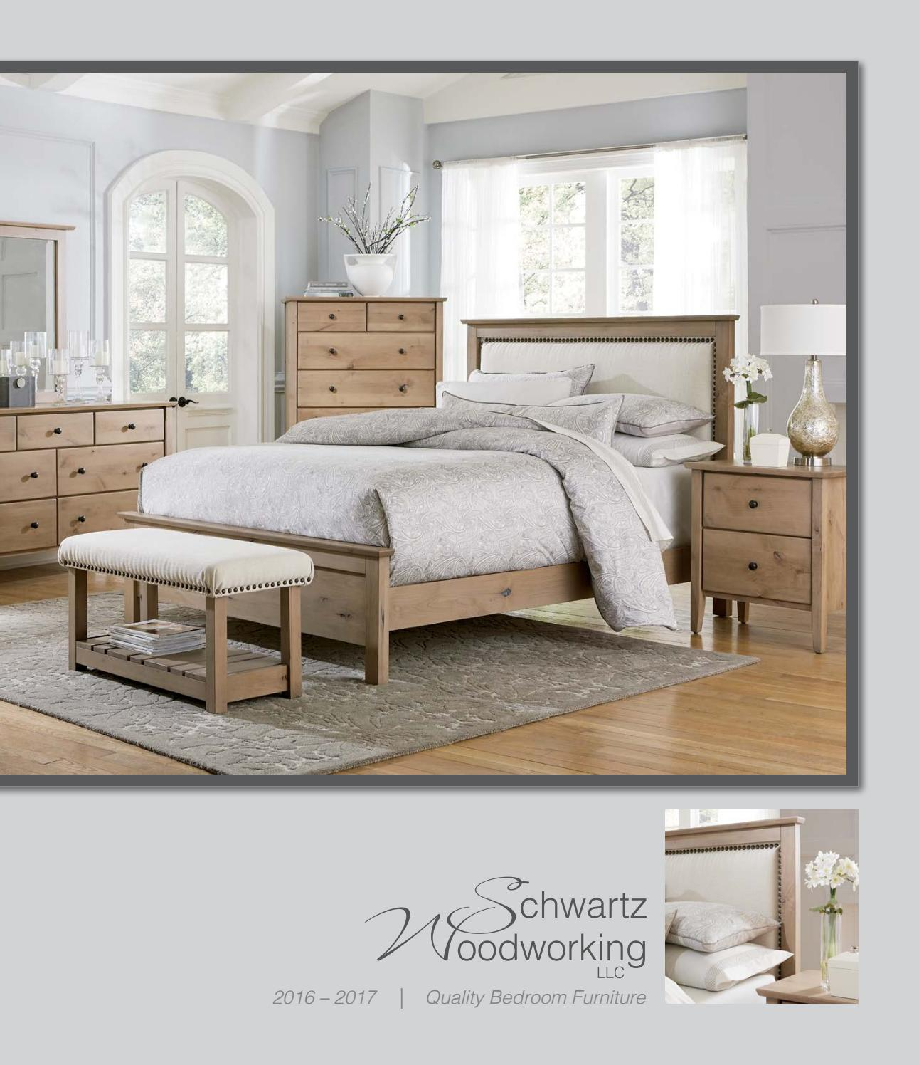 2016 Schwartz Woodworking Catalog / Bedrooms / E & G Amish Furntire ...