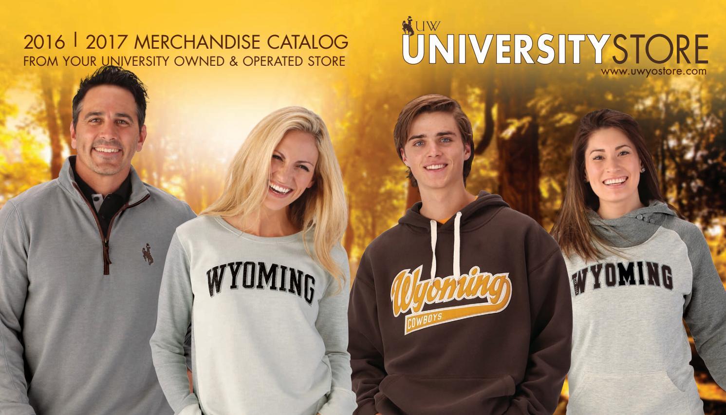 University Store 2016 | 2017 Merchandise Catalog by University Store