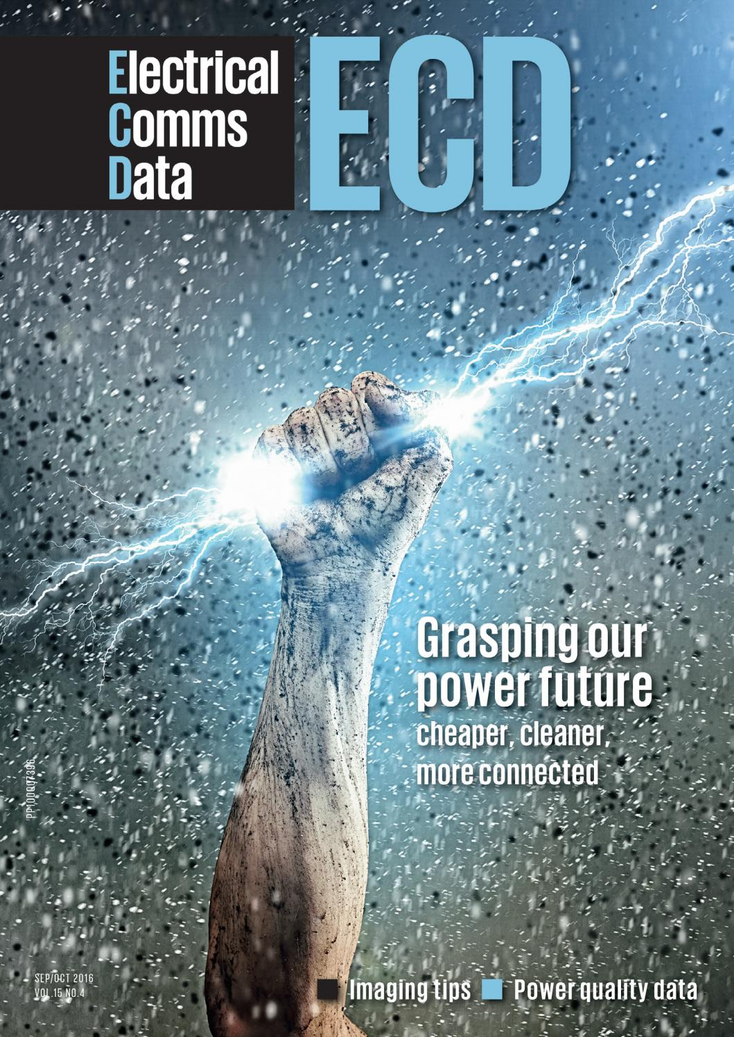 ECD (Electrical+Comms+Data) Sep/Oct 2016 by Westwick-Farrow Media