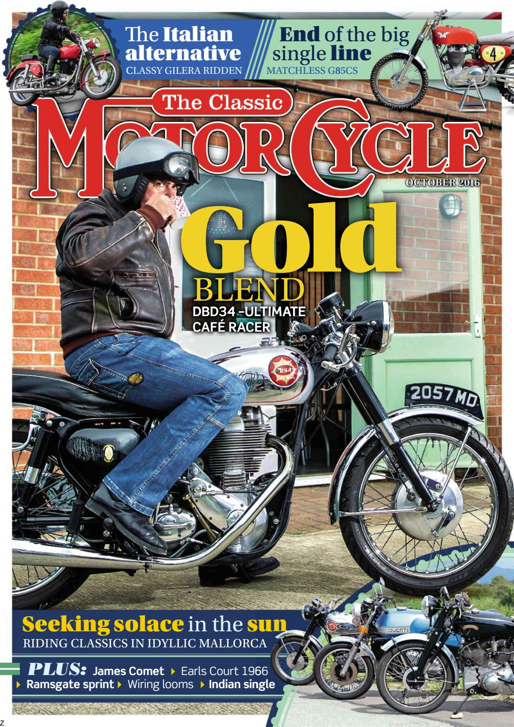 The Classic Motorcycle October 2016 Preview By Mortons Media Group Wiring Looms Ltd Issuu