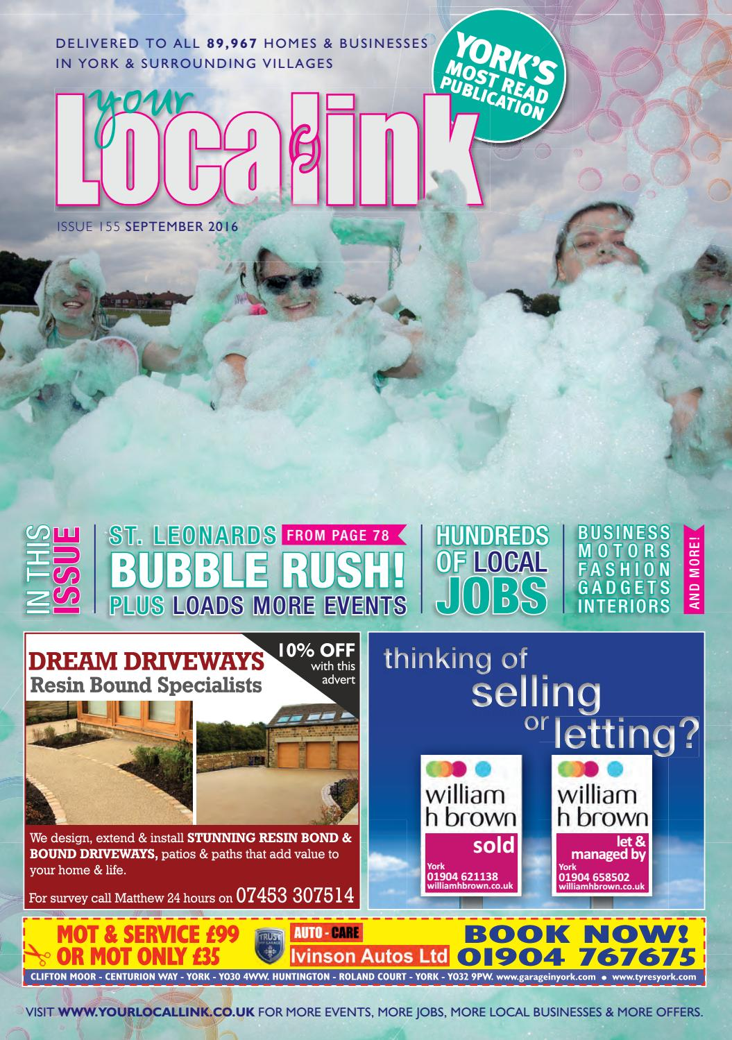 Your Local Link September 2016 by Your Local Link Ltd - issuu